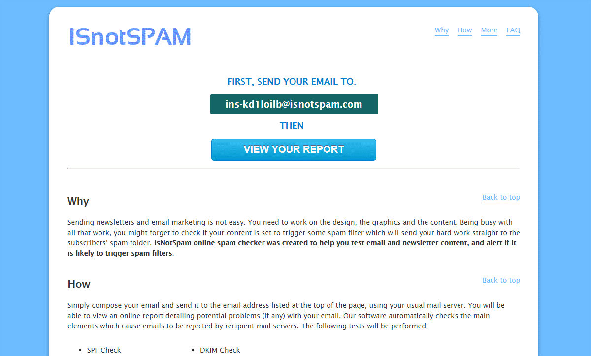 What is Email spam checker - Definition | SendPulse
